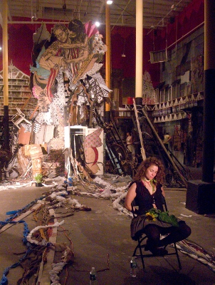 CUT & PASTE, An Interview with Swoon  (1/3)