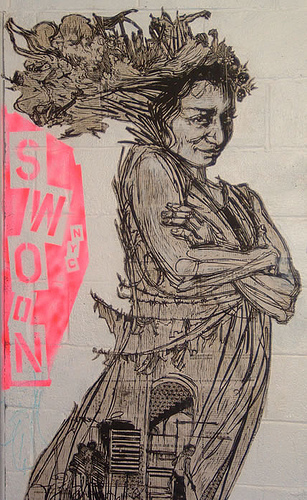 CUT & PASTE, An Interview with Swoon  (2/3)